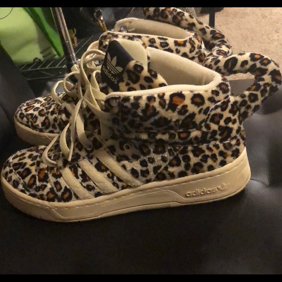 new concept 28d72 f88a9 adidas Shoes - Adidas X Jeremy Scott Leopard Tail sneakers